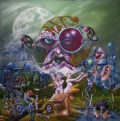 die Zukunft ist kein Spa (Peter Willi Wall) Tags: kunst apocalypse fantasy sachsen anhalt illustrator harz malerei zukunft spas illustrationen realismus surrealismus symbolismus phantastisch phantastischer