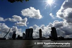 Rotterdam 2015 001 (berserker244) Tags: rotterdam erasmusbrug guerrillaphotography heinkel111 yggdrasilphotography evandijk deaanval yggdrasilphotography90072015 tentoonstellingdeaanval