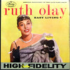 Ruth Olay Album Cover (kevin63) Tags: lightner picture photo old kitschbitsch rutholay singer album cover vinyl 3313 rpm record sixties fifties 60s50s music champagne cigarette lipstick red highfidelity easy living glamour yellow background singing discovery jackparr show fur coat stole mink gloves diamonds