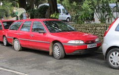 One Owner Mondeo Estate (occama) Tags: l508nya ford mondeo estate 18lx old car red cornwall uk bangernomics