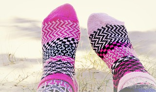 Life is too short to wear matching socks
