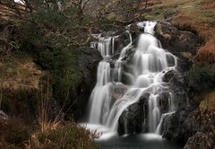 cwm Llan Waterfall * ({House} Photography) Tags: cwm llan waterfall watkins path snowdon snowdonia water wet long exposure canon 70d 24105 f4 housephotography timothyhouse wales north mountains
