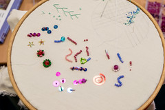 DSC_0712 (surreyadultlearning) Tags: embroidery sewing adulteducation surrey camberley art craft tutor uk painting calligraphy photography