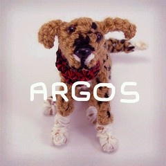 Mini-Argos ^_^ (=D Irene) Tags: dog cute puppy toy perro miniatura argos galgo miniyo amigurimi flickrandroidapp:filter=beijing