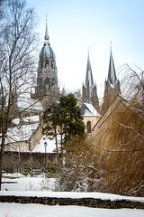 Snowy Bayeux (margatt2012) Tags: france cathedral gothic medieval normandy bayeux