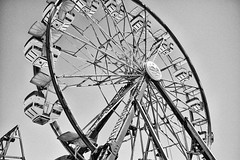 DSCF6811 (RHMImages) Tags: blackandwhite bw fuji ride fair ferriswheel fujifilm countyfair contracostacounty x100s
