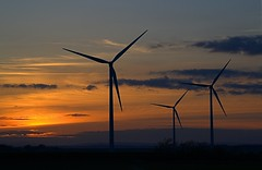 Waiting for the wind. (Callaghan69) Tags: england sky nature clouds sunrise north east northumberland windturbine woodhorn ashington nikond3100