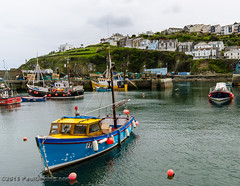 Inner Harbour Fishing Boat - Megavissey, Cornwall, England, UK (Paul Diming) Tags: uk greatbritain england landscape boats boat spring cornwall unitedkingdom fishingboat fishingvillage mevagissey mevagisseycornwall d7000 mevagisseyuk pauldiming mevagisseycornwallengland mevagisseyengland