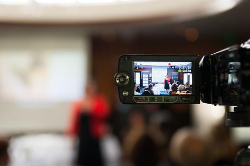 Filming at a Seminar