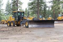 snow john blade plow deere truckee grader