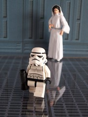 I swear if she says it ONE more time.. (Frog Princess66) Tags: toys starwars kodak stormtroopers princessleia actionfigures deathstar easyshare minifigure stormies legominifigs arentyoualittleshortforastormtrooper