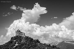 Abandoned astronomical observatory | Sierra Nevada | Left Behind Series (Fabio Corleone) Tags: white black abandoned landscape blackwhite observatory granada sierranevada blackwhitephotos