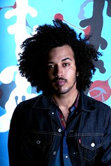 (Cameron Jameson) Tags: portrait brown black shirt self hair big shot afro jacket curly cameron hawaiian levi facialhair mustache mulato wansley camjames camjameson
