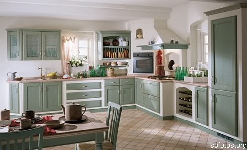 Cozinha decorada planejada