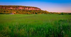 Niagara Escarpment, Burlington, Ontario (dekard72) Tags: sunset ontario canada field burlington farmhouse nikon dusk farm niagara hdr d800 escarpment niagaraescarpment 2470 nikon2470
