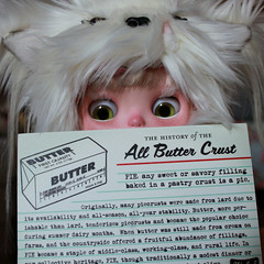 142-365 A week of postcards. No.4 All Butter Crust!