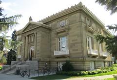Old Carnegie Library (Calgary, Alberta) (courthouselover) Tags: canada calgary libraries ab alberta bibliothque cityofcalgary carnegielibraries prairieprovinces bibliothquecarnegie