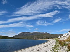 Ben More Coigach (Traigh Mhor) Tags: mountains beach scotland highlands august benmorecoigach inverpolly ardmair 2013