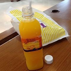 น้ำรสส้ม เอื้องหลวง | Eurng Luang Orange Flavored Juice @ Puff & Pie | พัฟ แอนด์ พาย สำนักงานใหญ่การบินไทย
