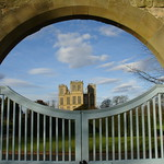 "Hardwich Hall Gate<a href=""http://farm4.static.flickr.com/3825/9790103205_3bc43dc0fb_o.jpg"" title=""High res"">∝</a>"