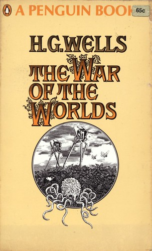 "The War of the Worlds by H.G. Wells. Penguin 1967. • <a style=""font-size:0.8em;"" href=""http://www.flickr.com/photos/75422475@N02/9851171626/"" target=""_blank"">View on Flickr</a>"