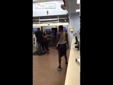 Fight at walmart over the last copy of GTA V