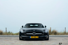 Simplicity is Perfection (Rogier-Postma Photography) Tags: black speed germany 50mm mercedes benz is nikon boulevard tour g fast simplicity nikkor f18 perfection afs sls amg roader 2013 d7100 supercardrive supercarclubnl
