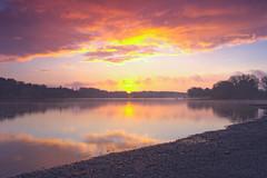 HDR Guelph Lake Sunrise