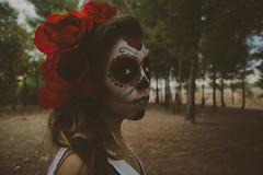 Catrina9 (Rocío Alhama) Tags: portrait halloween girl canon photography model modelo 5dmarkii