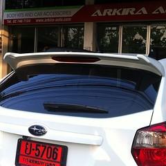 #spoiler #subaru #xv #hatchback by #arkira_auto #สปอยเลอร์ #ซูบารุ #สนใจติดต่อ #contact #0880083309 #0895536545 #0854146459