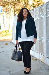 www.GirlWithCurves.com (GirlWithCurves) Tags: baby fall fashion hair curvy maternity curly bump plussizefashion girlwithcurves taneshaawasthi