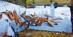 Odeith (Dutch Girl in London) Tags: streetart london skyline graffiti parliament bigben fox bricklane bartsimpson eastlondon graffitilife odeith