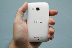 HTC Desire 200 back with 5MP camera and speaker