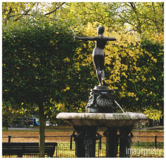 058 (imagepoetry) Tags: park tree green london leaves statue female garden sony springbrunnen hydepark baum brunen imagepoetry ipoetry nex5r