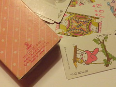 My melody 1983 Playing cards (My Sweet 80s) Tags: lala kiki littletwinstars cinnomaroll sanrio sanriovintage madeinjapan japaneaseproduction magneticclipboard lavagnettamagnetica magneti scatolinacuore heartshaped case heartshapedbox littletwinstarscase mymelody playingcards 1980 80s anni80 70 anni70 70s badtzumaru blocknotes sheets blocchetto badbadtzumaru hellokittystickers hellokitty pochacco stickers pochaccosanrio adesivisanrio littletwinstarsmirror mirror 2012 lalapvc pupazzinolala pupazzinolittletwinstars bambolalittletwinstars pattyandjimmy pattyjimmy shopper minishopper bags minibags tinybag tuxedosam clipboard lavagnetta portadocumenti 1979 1983 stationery cartoleriavintage vintagestationery cartedagioco giocodatavolo cartesàjouer cartedatavolo