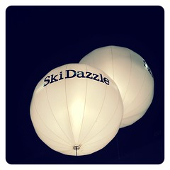 Dazzled. (infa_reds) Tags: winter white ski art promotion balloons losangeles december perspective orb socal convention round 365 dazzle iphone skidazzle bestview bestphoto 2013 uploaded:by=flickrmobile flickriosapp:filter=nofilter vision:sky=0523 vision:outdoor=0744