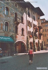 Casa Balduini-Dall Armi  piazza Duomo  Trento(Vettorato Luigi)