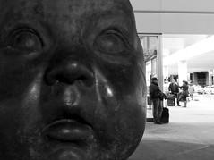 Antonio Lpez Sculpture - Atocha Station (Trotaparamos) Tags: madrid art finepix fujifilm atocha silkypix fseries antoniolpez f900exr finepixf900exr trotaparamos