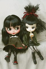 Bad 22nd Jan - Blythe and another type of Doll
