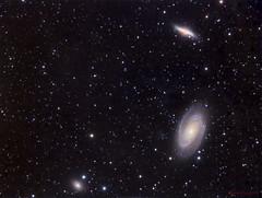 Bode's nebulae (Mickut) Tags: galaxy galaxies supernova Astrometrydotnet:status=solved flt110 komakallio sxvrh18 sn2014j Astrometrydotnet:id=nova220691