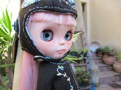 Rita (*KukiCat*) Tags: art nerd doll ooak teeth faceplate rina customblythe customdoll customdress kukicat aliceblicecustomchips