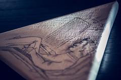 Malerei (Tekke) Tags: licht nikon kunst 100mm bild f28 bleistift d800 malerei kreativ leinwand malern lichkegel