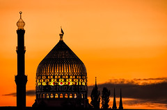 Just a silhouette (Photos On The Road) Tags: sunset horizontal backlight germany outside outdoors evening dresden twilight europa europe tramonto factory outdoor dusk minaret saxony landmark sachsen cupola dome glowing oriental done germania sera minareto outdoorshots dresda yenidze orizzontale sassonia outdoorshot fakemosque lrthefader flickrsfinestimages1 flickrsfinestimages2 viaggiosettembre2013 falsamoschea