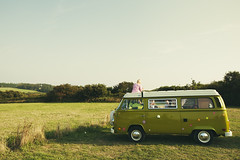 That's what's true (Sator Arepo) Tags: family flowers france green field canon volkswagen wagon freedom peace country greens hippie 5d omaha 24mm van camper normandy ts tse markii tiltshift vision:sunset=0522 vision:sky=057 vision:outdoor=0918 vis
