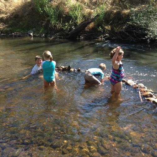 Splashing in the Acheron River