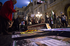 2014_03_15_Siria III aniversario_ Tono Carbajo_04 (Fotomovimiento) Tags: barcelona aniversario libertad siria democracia santjaume genocidio fotomovimiento