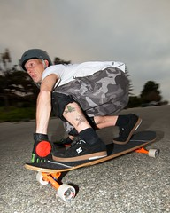 Michael (Kyle Chin) Tags: night nikon action flash longboard skateboard nikkor speedlight 1024mm d7000 sb700
