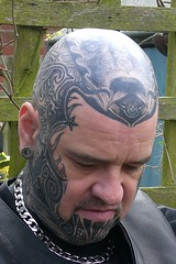 Right Temple - Celtic Scorpion (Bear & Rabbit (formerly BC&IKB)) Tags: leather tattoo tribal celtic moko knotwork bearhead facetattoo leatherbear beartattoo necktattoo scalptattoo headtattoo throattattoo facialtattoo bearshead tattooedneck blackngrey tattooedbear tattooedscalp chintattoo tattoobear suffolktattoo uktattoo tattooedchin tattooedthroat inkedinuk tattooedintheuk tattooedleatherbear tattooedleatherman