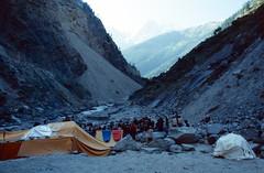 Rishi Ganga Looking Upstream from Reni