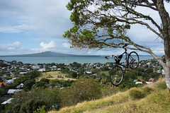 City Of Volcanoes (ibikenz) Tags: bike bicycle auckland surly devonport rangitoto mtvictoria crosscheck rx100 janddframebag sonycybershotdscrx100